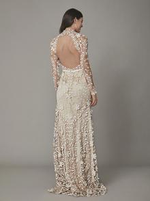 rosari gown - nude dress photo 2