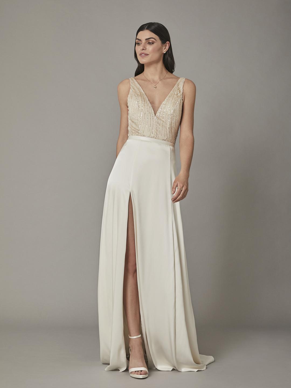 riya bodysuit dress photo