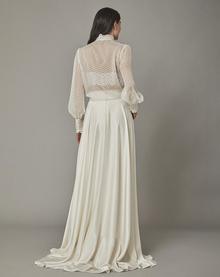 swan blouse dress photo 2