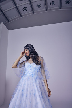 amora (blue) dress photo