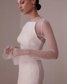 mia mesh dress photo 3