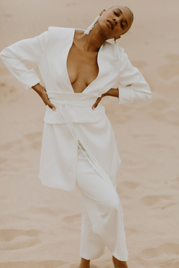 ezra suit  dress photo