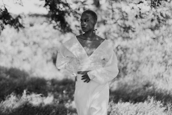 frances blouse dress photo