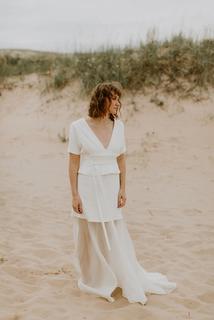 grey  dress photo 1