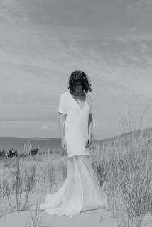 grey  dress photo 2