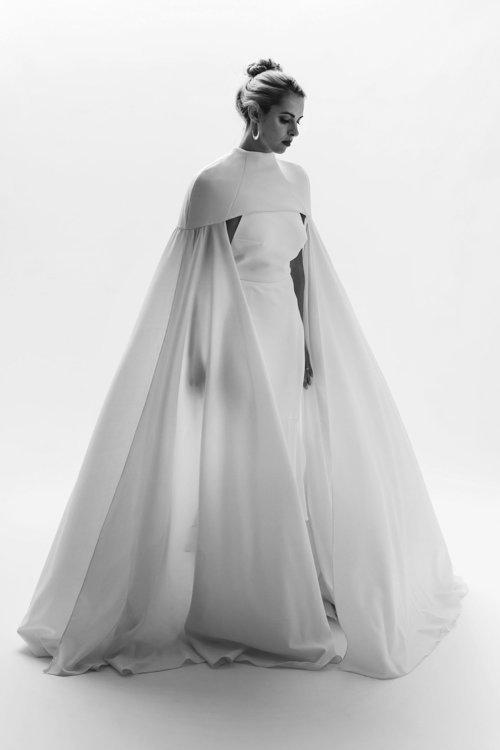 leia cape dress photo