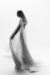 leia cape dress photo 2