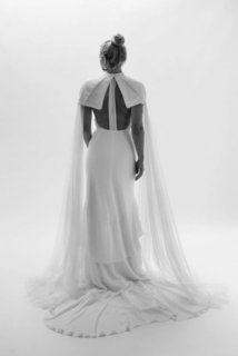 taylor cape dress photo 2