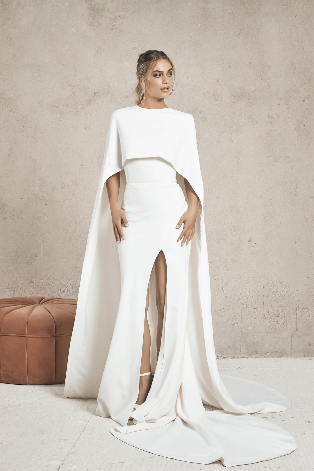 eos cape dress photo
