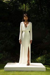style 021 // silk wrap dress dress photo 1