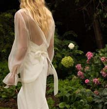 style 032 // silk organza overlay dress photo 2
