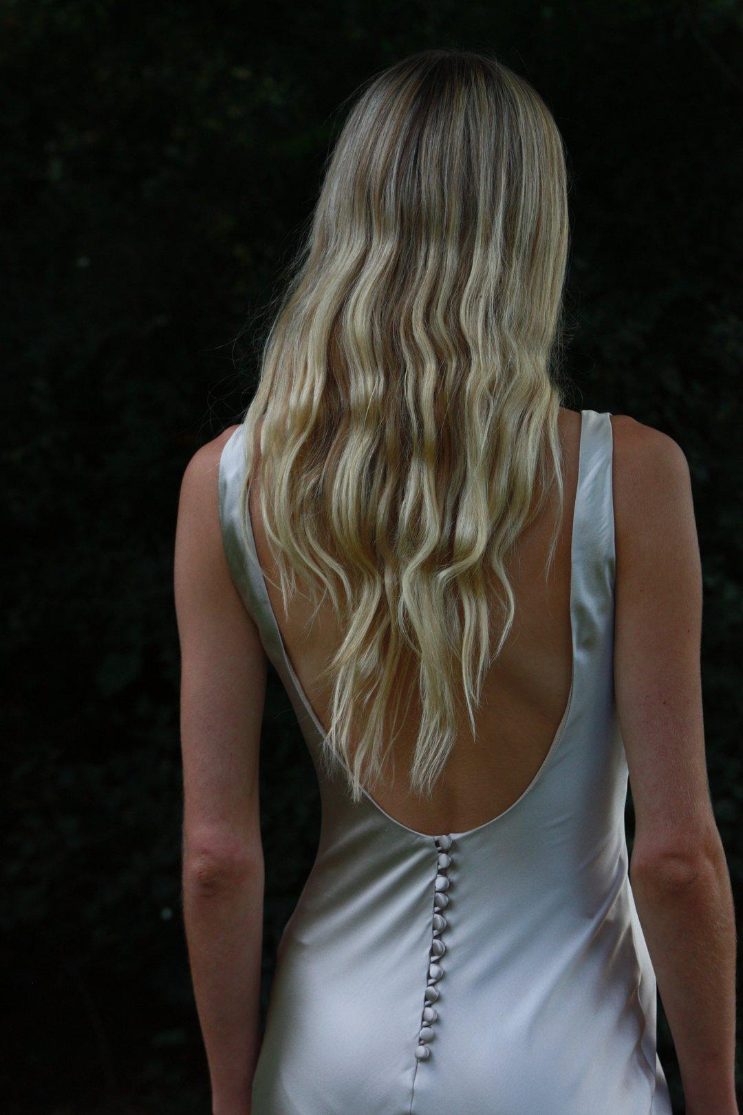 style 008 // champagne slip  dress photo
