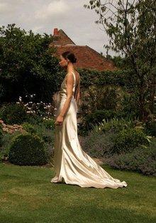style 008 // champagne slip  dress photo 2