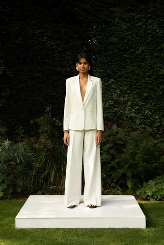style 004 + style 005 // tux suit dress photo