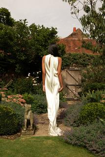 style 017 // satin halter  dress photo 2