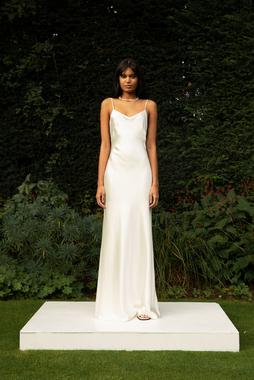 style 018 // satin slip dress photo