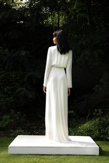 style 021 // silk wrap dress dress photo 3