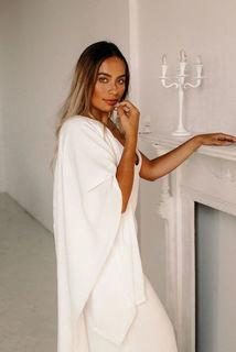 blanket wrap dress photo 2