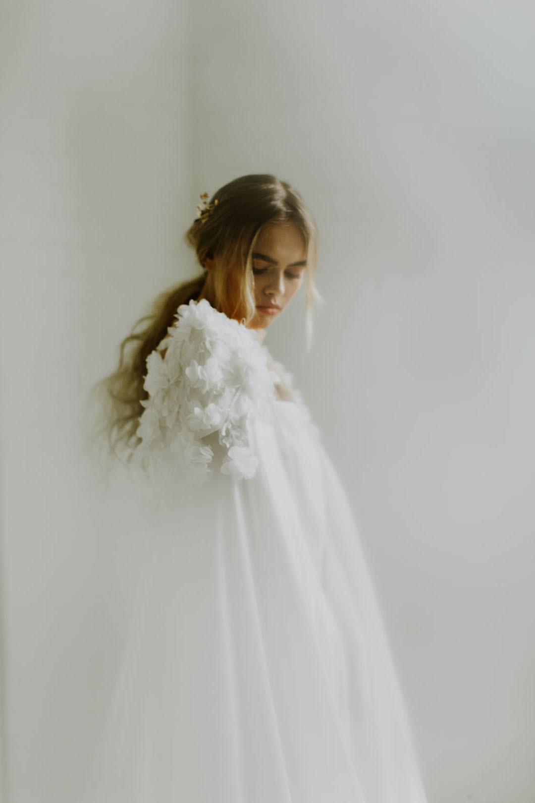 fleur cape  dress photo