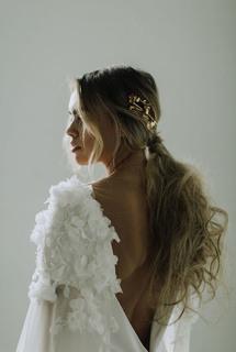 fleur cape  dress photo 4