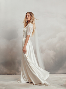 chelsea veil dress photo 1