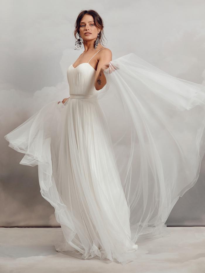 hayley over-skirt dress photo