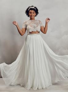 gracie top - curve dress photo 2