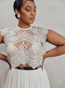 itala top - curve dress photo 1