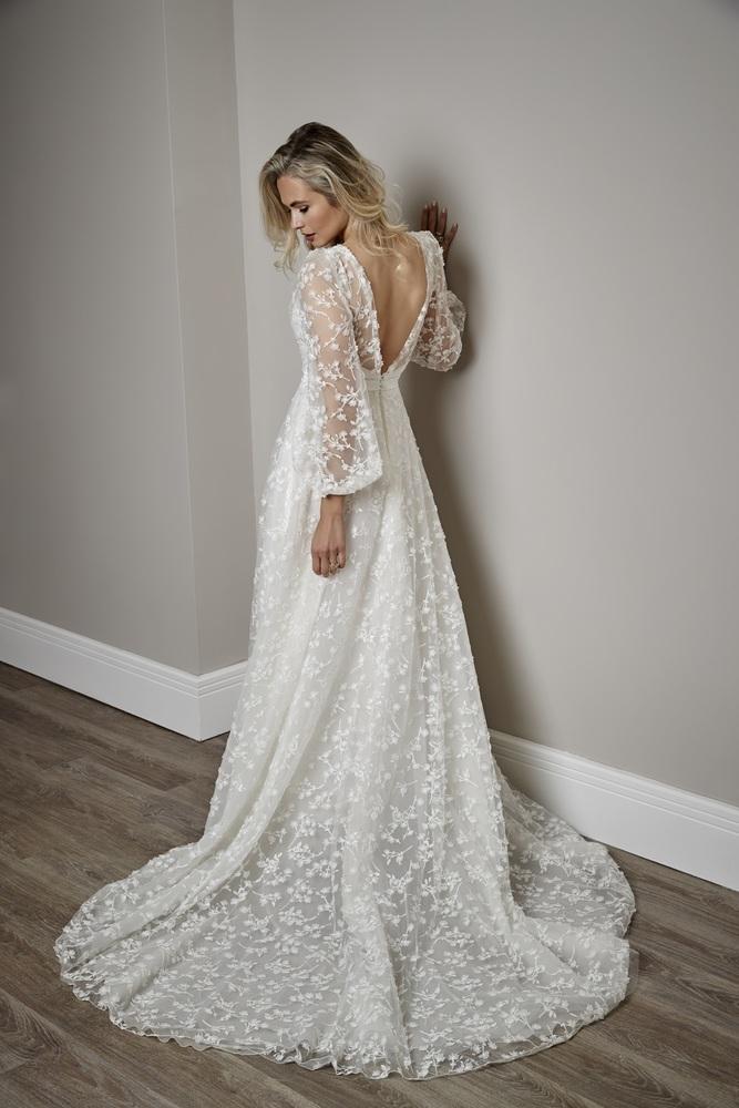 iris - ivory  dress photo