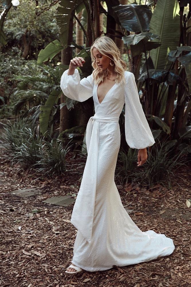 lavender bay dress photo