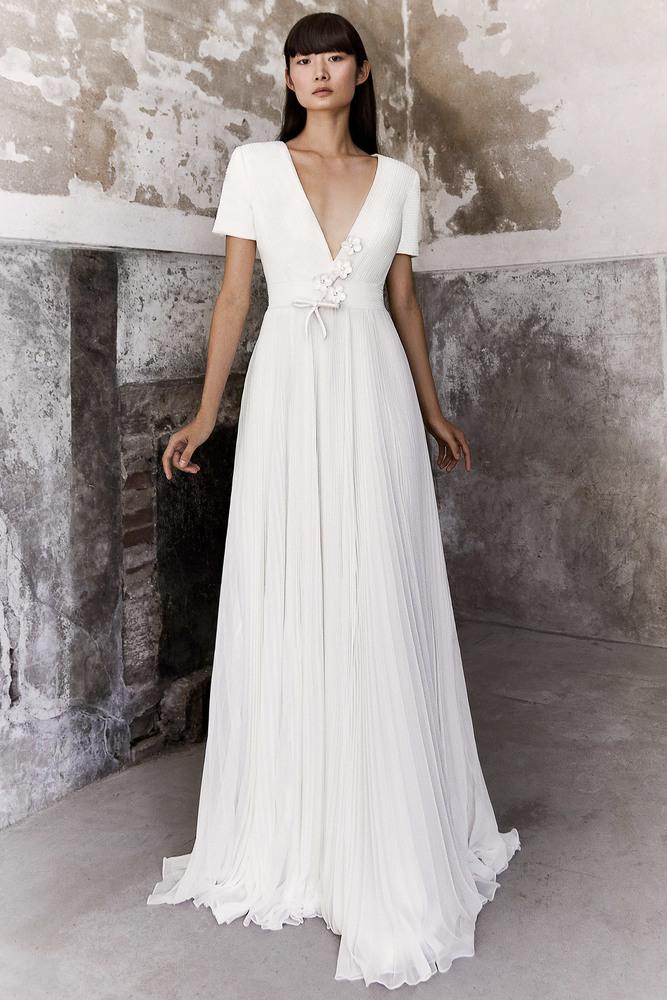 plissé chiffon dream dress photo