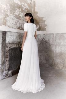 plissé chiffon dream dress photo 2