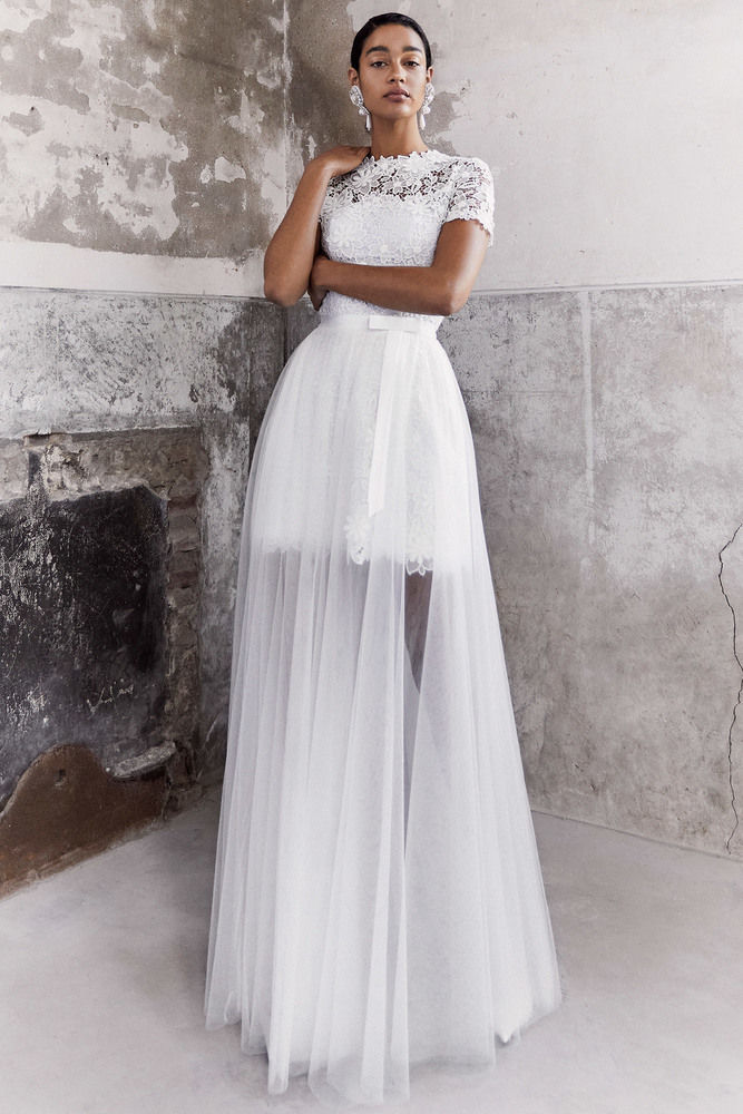 blooming lace layer dress dress photo