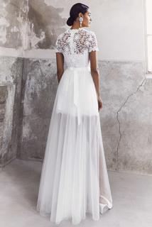 blooming lace layer dress dress photo 2