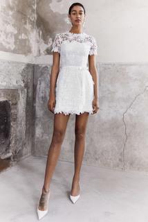 blooming lace layer dress dress photo 3