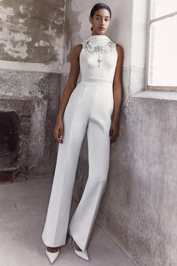 royal jewel jumpsuit dress photo