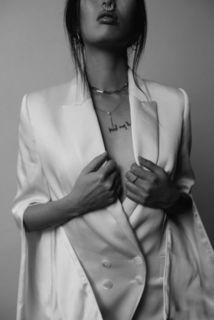 sleek blazer dress photo 4