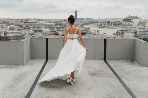 renoir / suzanne combo dress photo 2