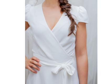 rosa cap sleeves / 4 lengths dress photo 2