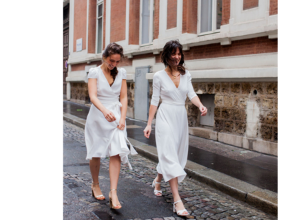 rosa cap sleeves / 4 lengths dress photo 3
