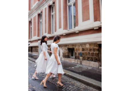 rosa cap sleeves / 4 lengths dress photo 4