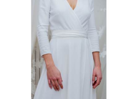 rosa / 7/8 sleeves dress photo 2
