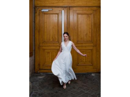 rosa / sleeveless dress photo 1