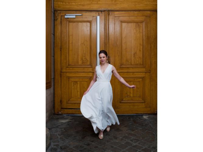 rosa / sleeveless dress photo