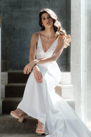 abelia gown dress photo