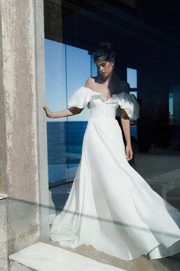 lavender dress photo