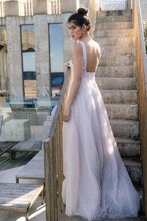 lilac dress photo 4