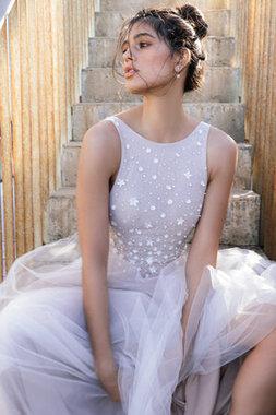 lilac dress photo