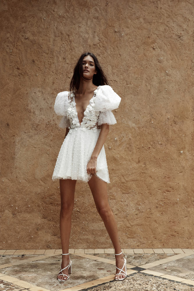 the rhiannon mini dress photo