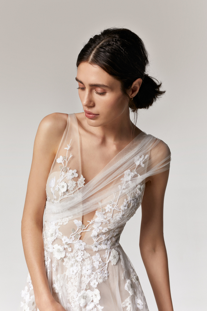 orchid dress photo